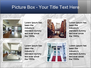 Black and white building PowerPoint Templates - Slide 14
