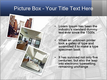 Black and white building PowerPoint Templates - Slide 17