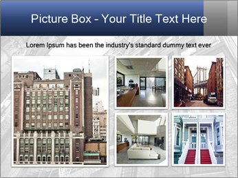 Black and white building PowerPoint Templates - Slide 19