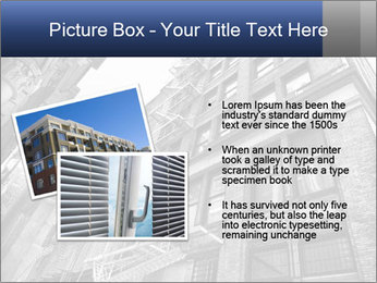 Black and white building PowerPoint Templates - Slide 20