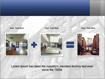 Black and white building PowerPoint Templates - Slide 22