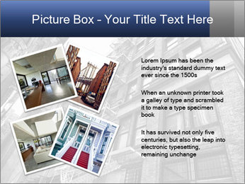 Black and white building PowerPoint Templates - Slide 23