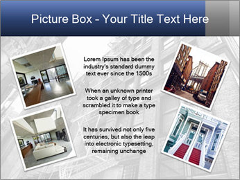 Black and white building PowerPoint Templates - Slide 24