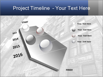 Black and white building PowerPoint Templates - Slide 26
