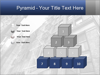 Black and white building PowerPoint Templates - Slide 31