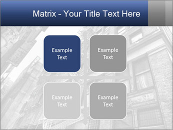 Black and white building PowerPoint Templates - Slide 37