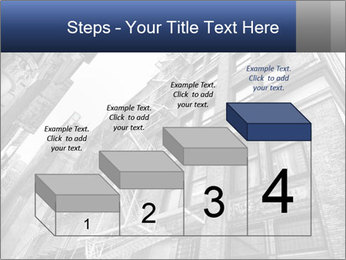 Black and white building PowerPoint Templates - Slide 64