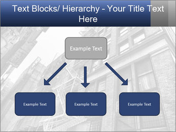 Black and white building PowerPoint Templates - Slide 69