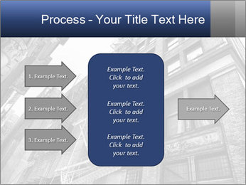 Black and white building PowerPoint Templates - Slide 85