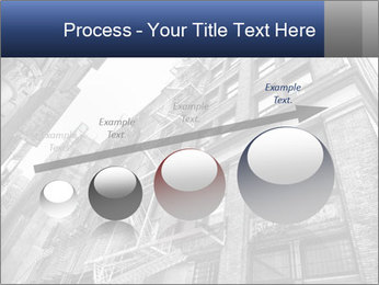 Black and white building PowerPoint Templates - Slide 87