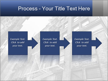Black and white building PowerPoint Templates - Slide 88