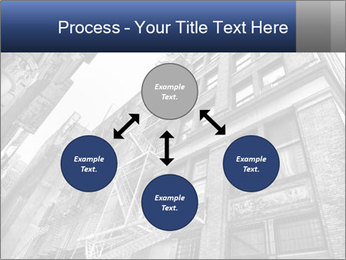 Black and white building PowerPoint Templates - Slide 91