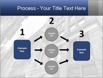 Black and white building PowerPoint Templates - Slide 92