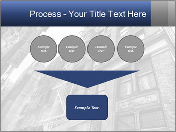 Black and white building PowerPoint Templates - Slide 93