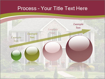 A large custom built luxury house in a residential neighborhood PowerPoint Templates - Slide 87