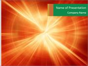 Abstract explosion PowerPoint Templates
