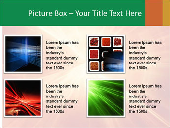 Abstract explosion PowerPoint Template - Slide 14