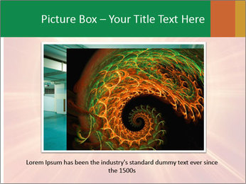 Abstract explosion PowerPoint Template - Slide 15