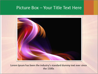 Abstract explosion PowerPoint Template - Slide 16