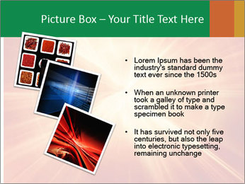 Abstract explosion PowerPoint Template - Slide 17