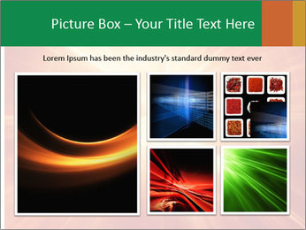Abstract explosion PowerPoint Template - Slide 19