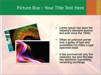 Abstract explosion PowerPoint Template - Slide 20