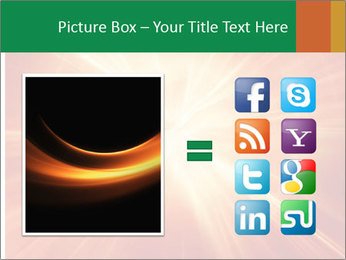 Abstract explosion PowerPoint Template - Slide 21