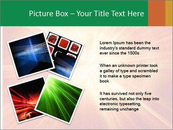 Abstract explosion PowerPoint Template - Slide 23