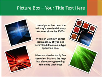Abstract explosion PowerPoint Template - Slide 24