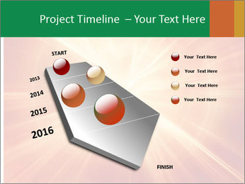 Abstract explosion PowerPoint Template - Slide 26