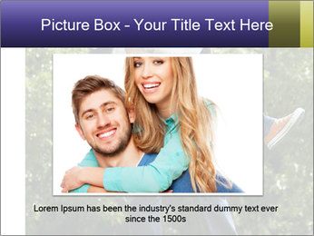 Beautiful fun happy smiling couple PowerPoint Templates - Slide 15