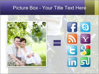 Beautiful fun happy smiling couple PowerPoint Templates - Slide 21