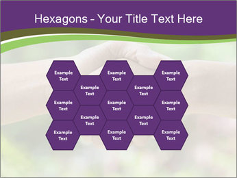 Hands shake PowerPoint Template - Slide 44
