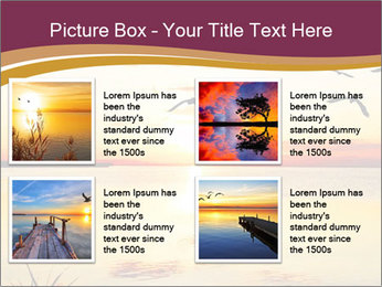 Flying towards the sun PowerPoint Template - Slide 14