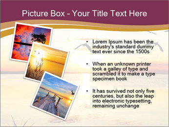 Flying towards the sun PowerPoint Template - Slide 17