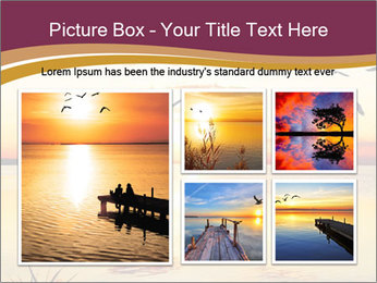 Flying towards the sun PowerPoint Template - Slide 19