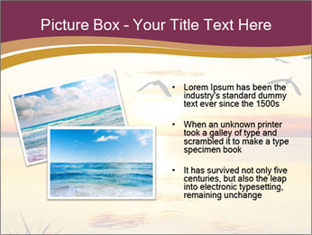Flying towards the sun PowerPoint Template - Slide 20