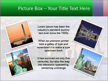Cityscape of St. Louis Missouri at night PowerPoint Templates - Slide 24