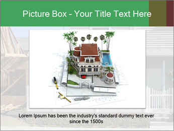 Single family residential development in a dense urban area PowerPoint Template - Slide 16