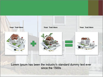 Single family residential development in a dense urban area PowerPoint Templates - Slide 22
