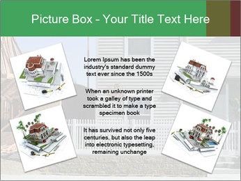 Single family residential development in a dense urban area PowerPoint Template - Slide 24