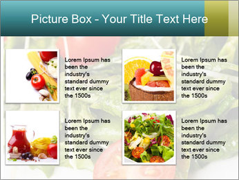 Summer salad PowerPoint Templates - Slide 14