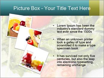 Summer salad PowerPoint Templates - Slide 17