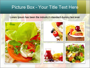 Summer salad PowerPoint Templates - Slide 19