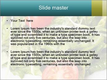 Summer salad PowerPoint Templates - Slide 2