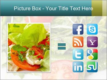 Summer salad PowerPoint Templates - Slide 21