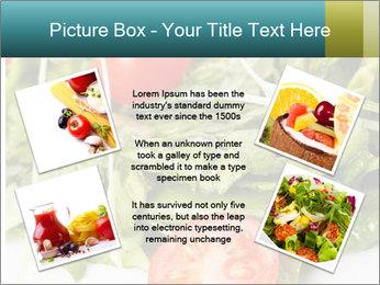 Summer salad PowerPoint Templates - Slide 24