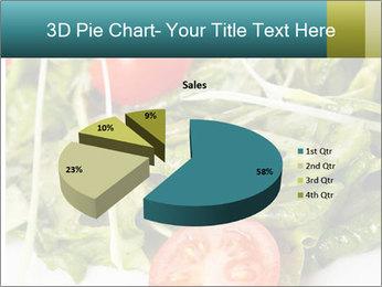 Summer salad PowerPoint Templates - Slide 35