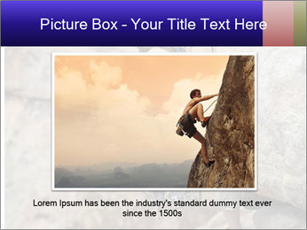 Rock climber PowerPoint Template - Slide 15