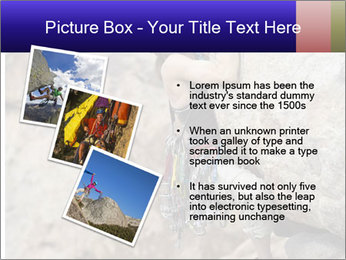 Rock climber PowerPoint Template - Slide 17